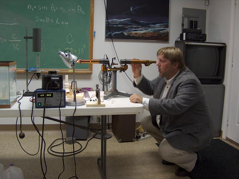 John Briggs Spectroscopy Demonstration