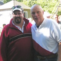 John Kocur and Story Musgrave