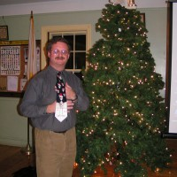 Steve Hubbard at December 2007 Meeting
