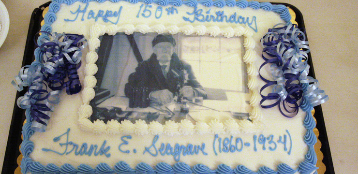 Celebrating the Sesquicentennial Birthday of Frank Evans Seagrave (1860–1934)
