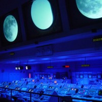 Control Room at Kennedy Space Center