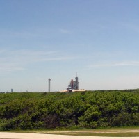 STS-134 Endeavour at Pad 39A