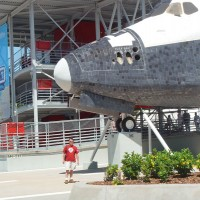 Space Shuttle replica