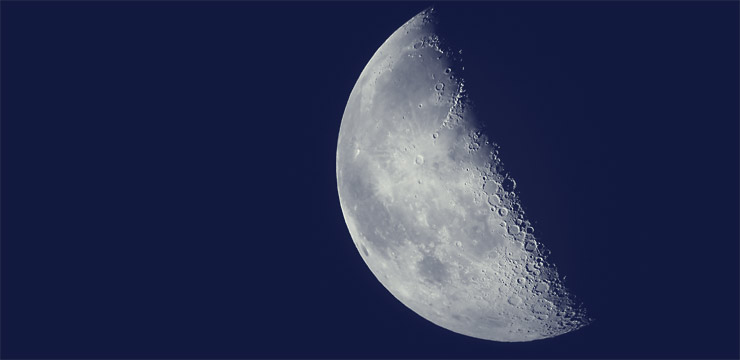 Fourth Quarter Moon Observing the Last Quarter