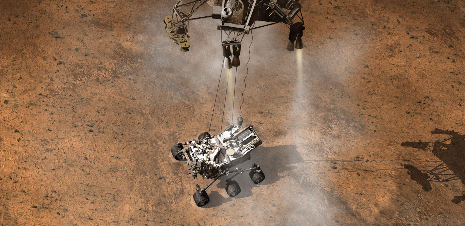 Curiosity to Explore Mars