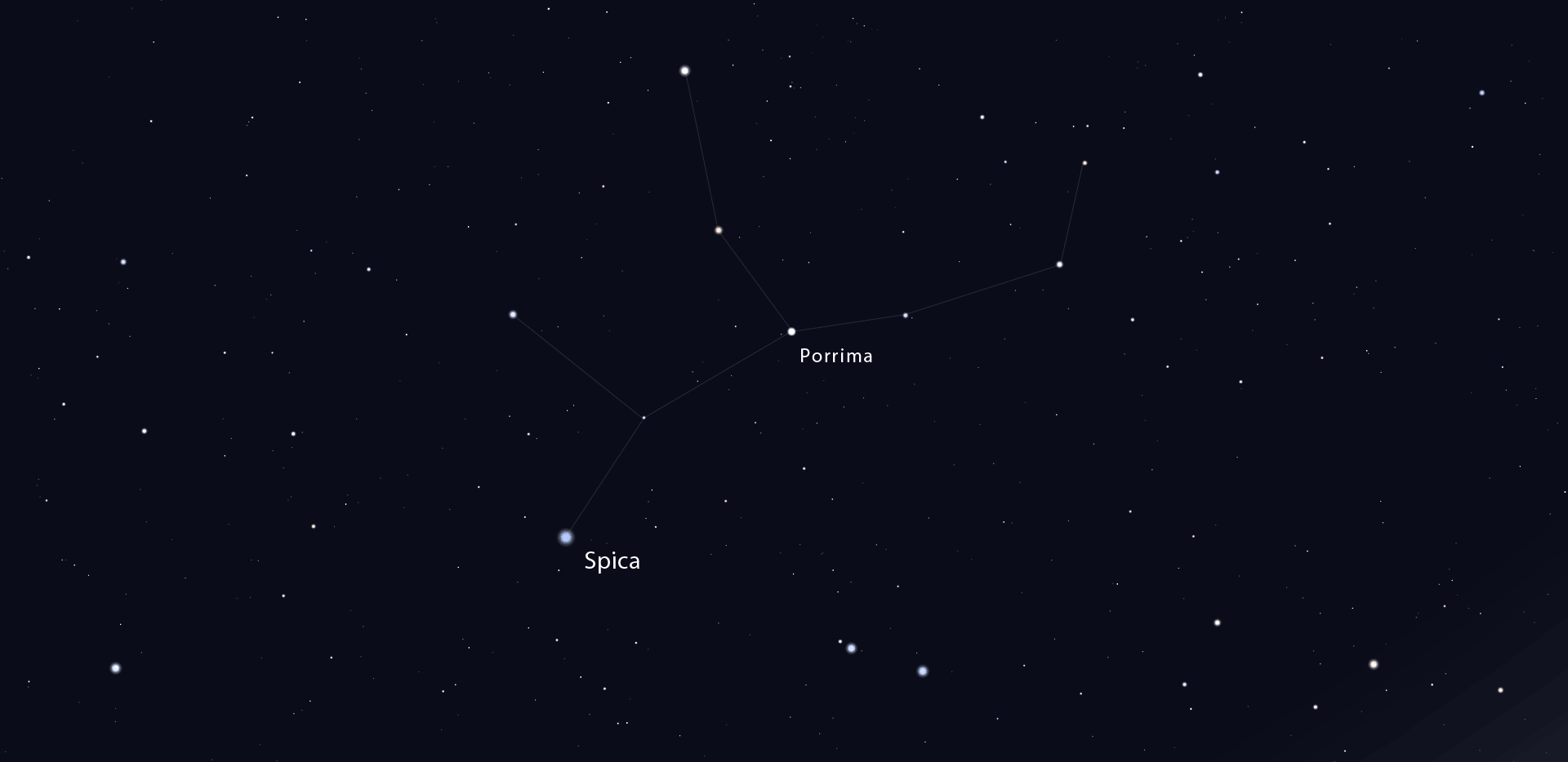 Porrima: Binary Star in Virgo