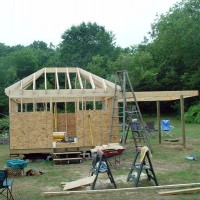 Tom Thibault's Heaven's View Observatory construction