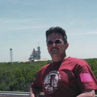 Tom Thibault at Kennedy Space Center