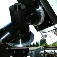 Dick Parker's 16-inch Cassegrain telescope at AstroAssembly 2008