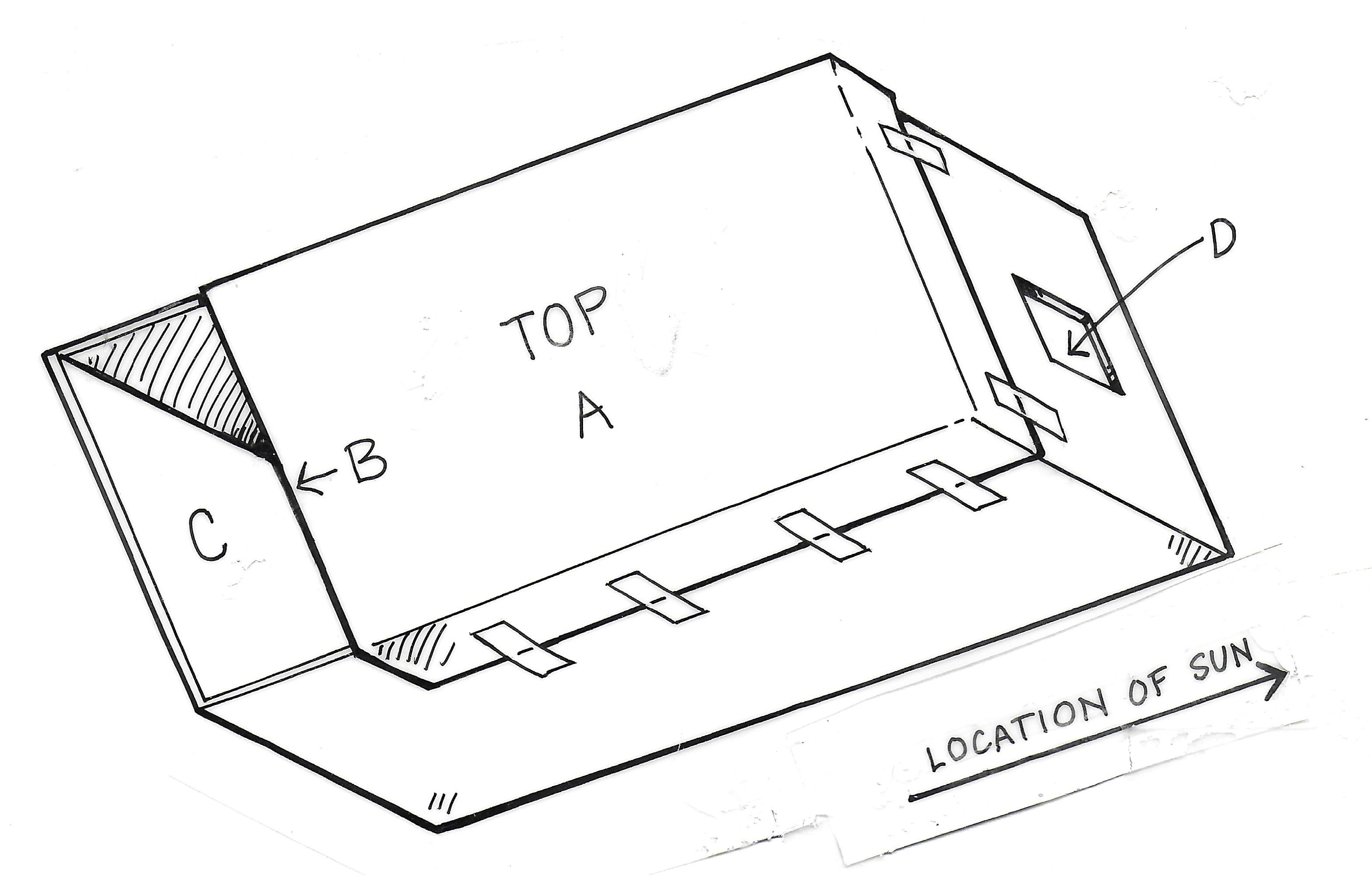 Shoebox Solar Projector Diagram 1