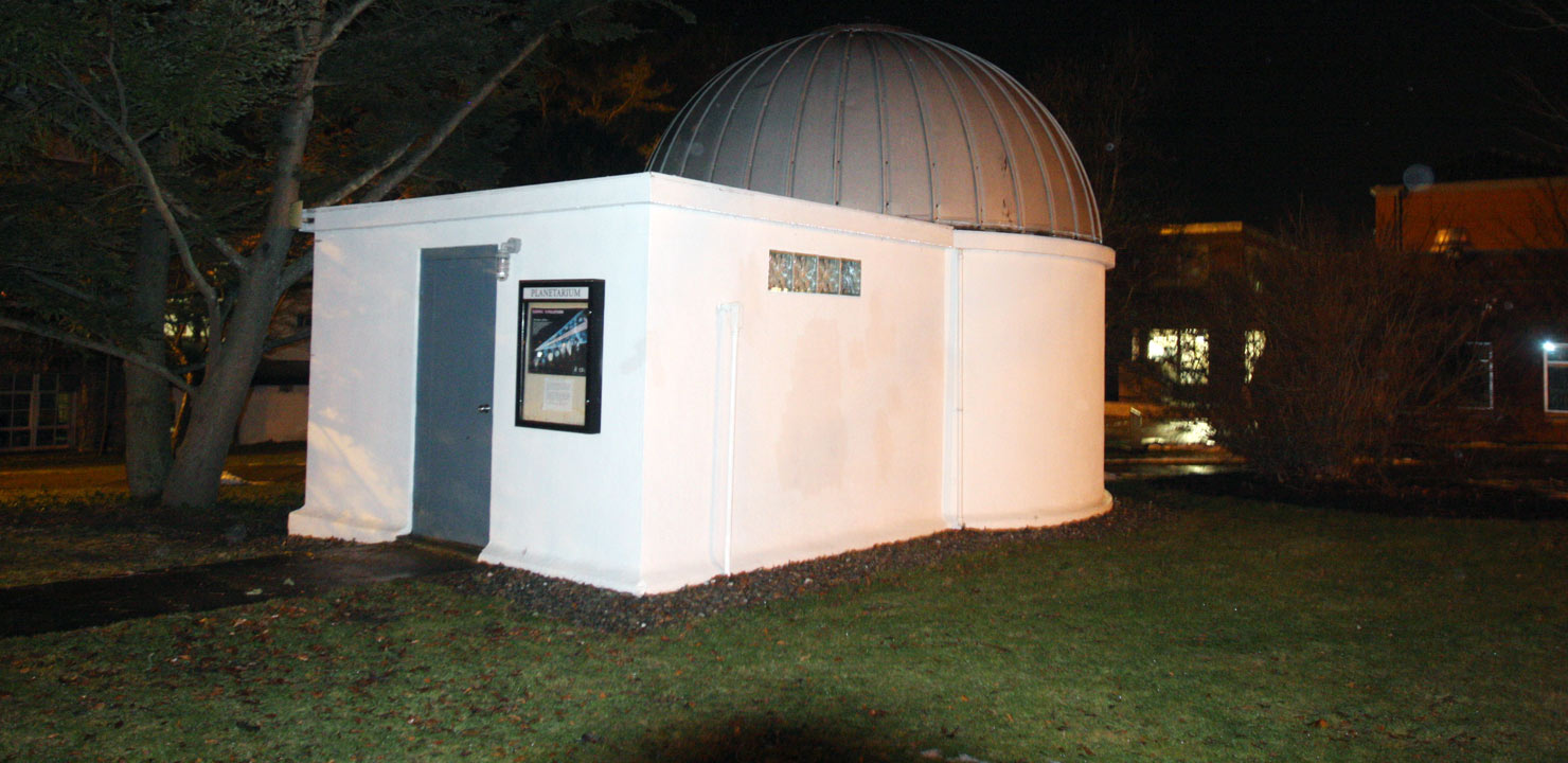 University of Rhode Island Planetarium