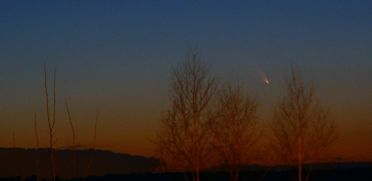 See Comet PanSTARRS in March and April