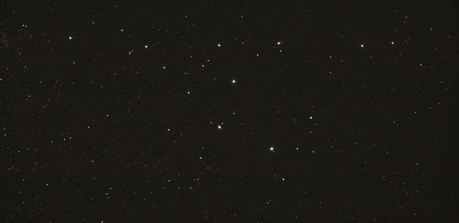 Coathanger Asterism in Vulpecula